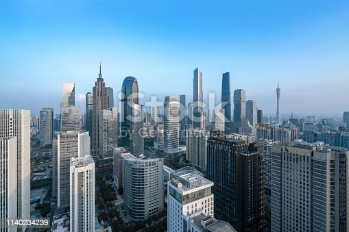 istock Smart city and connection lines 1140234239