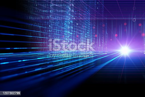 1082409706 istock photo smart city and  Digital landscape in  cyber world.3d illustration 1207302799