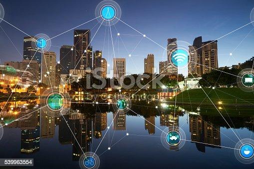 istock smart city and wireless communication network 539963554