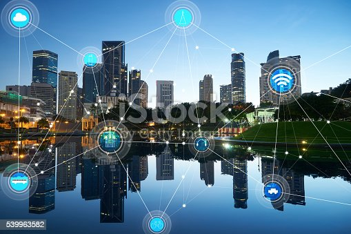 istock smart city and wireless communication network 539963582