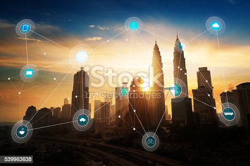 istock smart city and wireless communication network 539963638