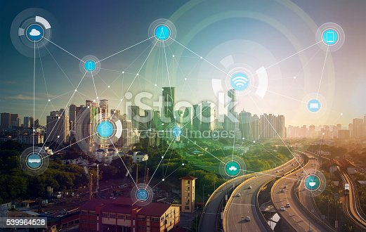 540226428 istock photo smart city and wireless communication network 539964528