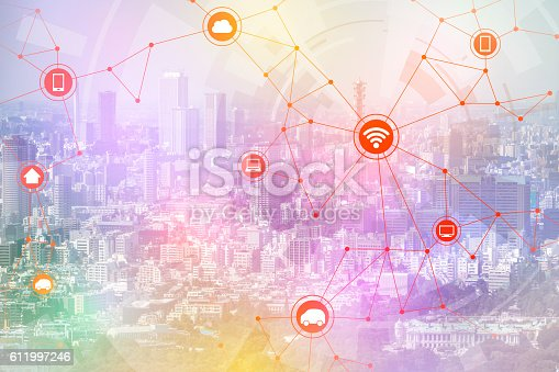 istock smart city and wireless communication network 611997246