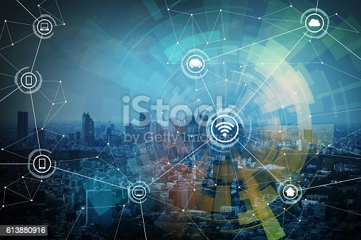 istock smart city and wireless communication network 613880916