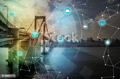 istock smart city and wireless communication network 613881712