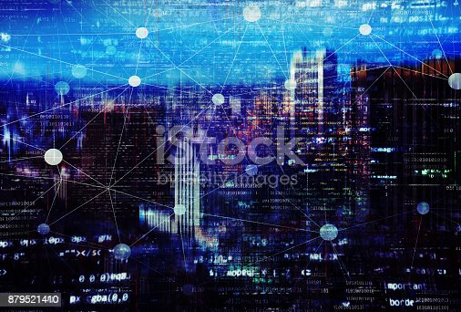 istock Smart City Concept - A More Connected World‎ 879521410