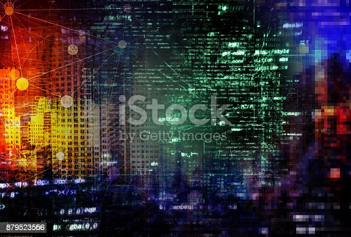 istock Smart City Concept - A More Connected World‎ 879523556