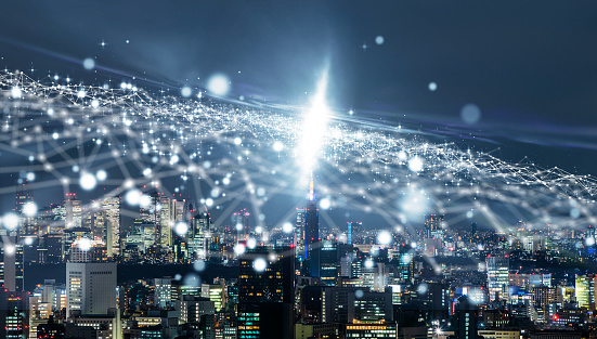 istock Smart city concept. IoT(Internet of Things). 993560642