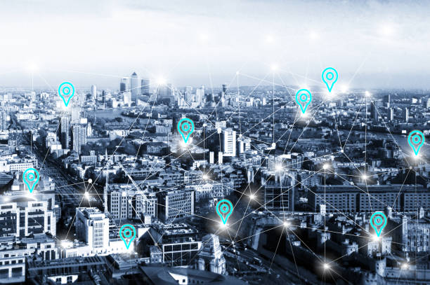 Smart City Concept stock photo