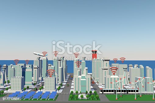 istock Smart City 917213834