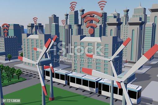 istock Smart City 917213838