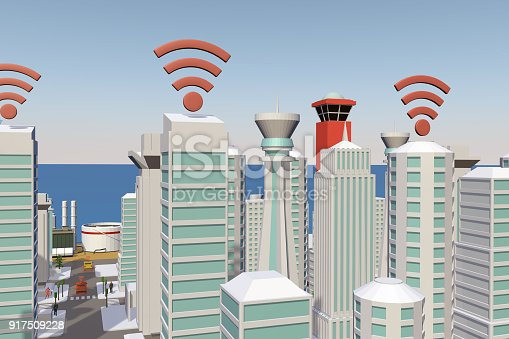 istock Smart City 917509228