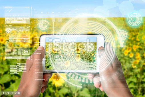 1075752640istockphoto Smart Device Augmented Reality VR Virtual Handheld 1174911790