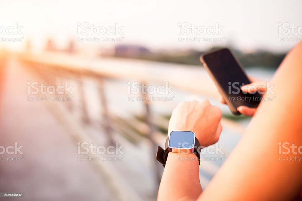 Smart devices stock photo