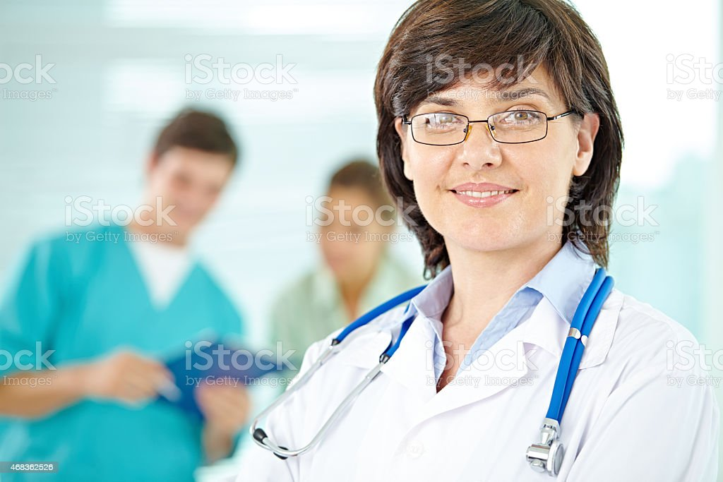 Smart doctor royalty-free stock photo