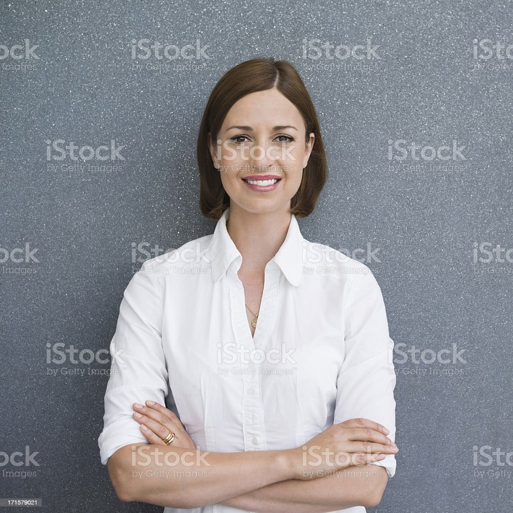 Smart Female Professional stock photo