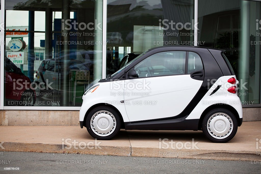 Smart Fortwo Vehicle royalty-free stock photo