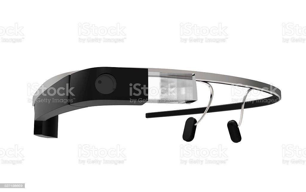 Smart glass stock photo