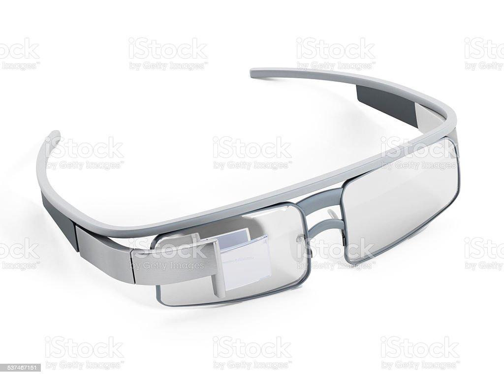 Smart glasses stock photo