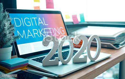istock 2020, smart goal concepts with mock up text number on computer laptop on desk table and window office background 1171652112