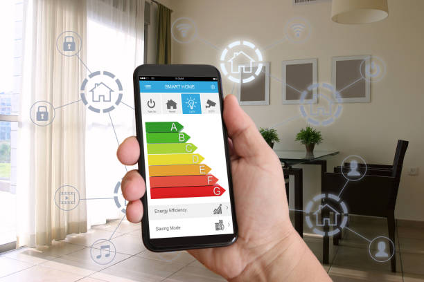 Smart home-Automation Handy Sicherheit Steuerungstechnik – Foto