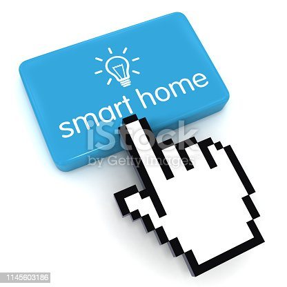 istock Smart home automation remote control energy efficiency 1145603186