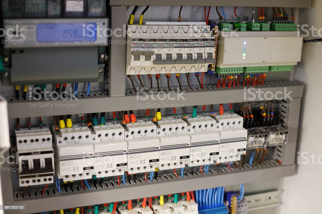 smart home automation system stock photo download image now istock Home Wiring Box