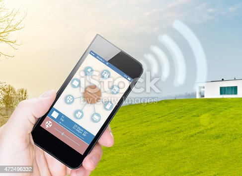 istock Smart Home Device - Home Control 472496332