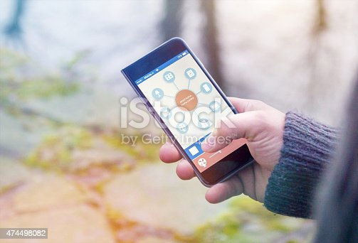 istock Smart Home Device - Home Control 474498082