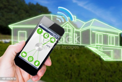 istock Smart Home Device - Home Control 481880979