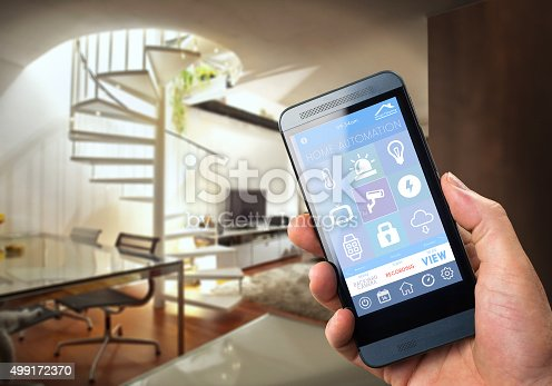 istock Smart Home Device - Home Control 499172370