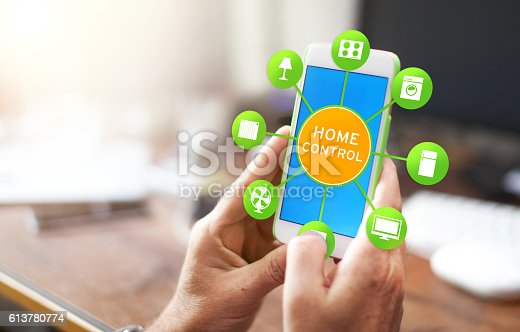 istock Smart Home Device - Home Control 613780774