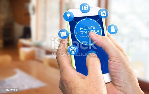 istock Smart Home Device - Home Control 613782308