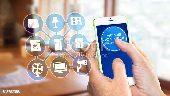 istock Smart Home Device - Home Control 613782388