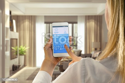 Home Automation, Living Room, House, Technology, Internet