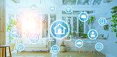 Smart house concept. Home automation.