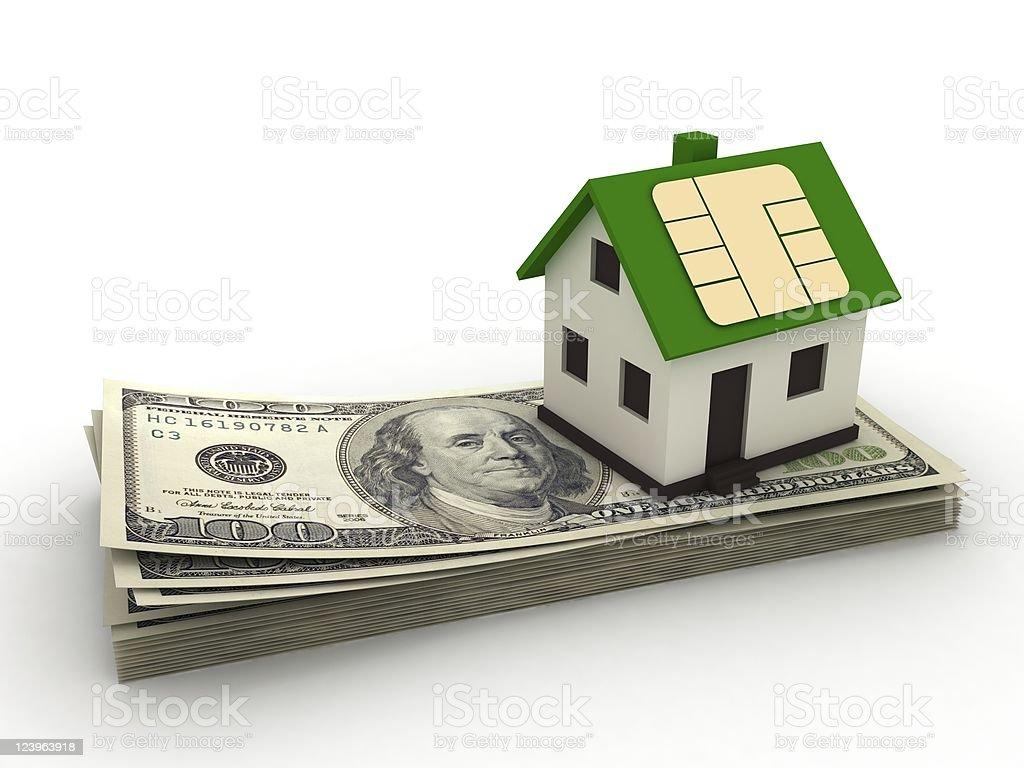 Smart House royalty-free stock photo
