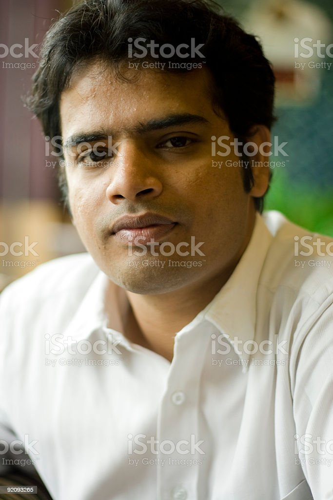 Smart Indian Youth royalty-free stock photo