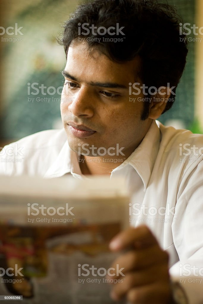 Smart Indian Youth stock photo