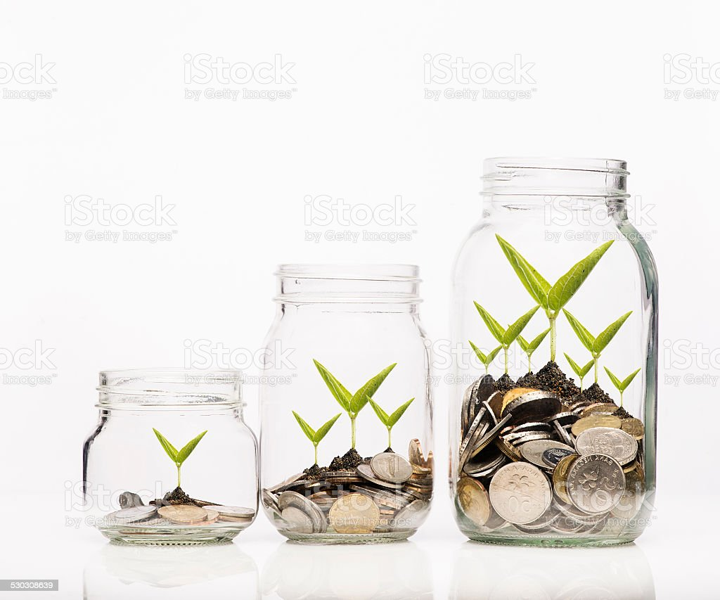 Smart Investment Concept stock photo