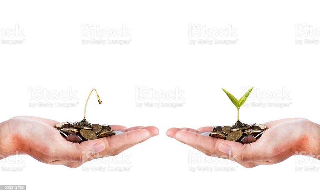 Smart Investment stock photo