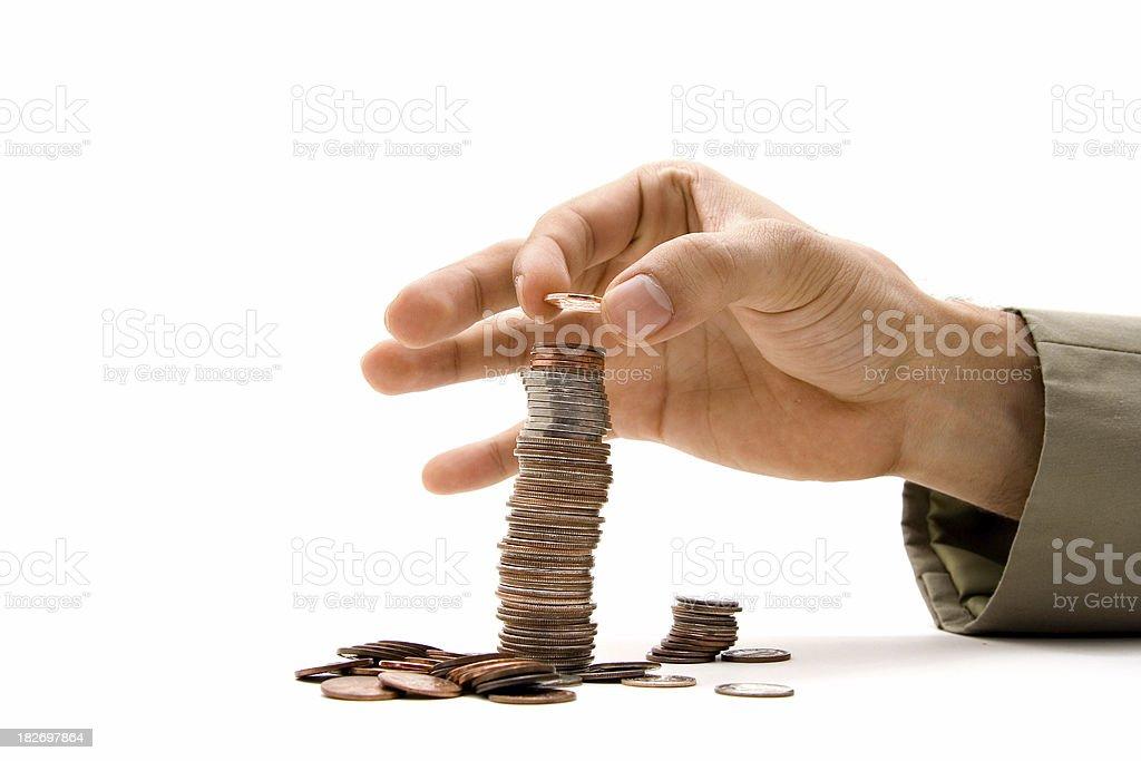 Smart investor royalty-free stock photo