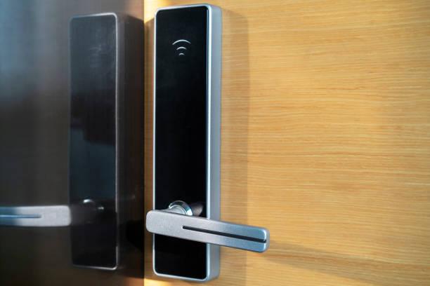 smart lock and door handle