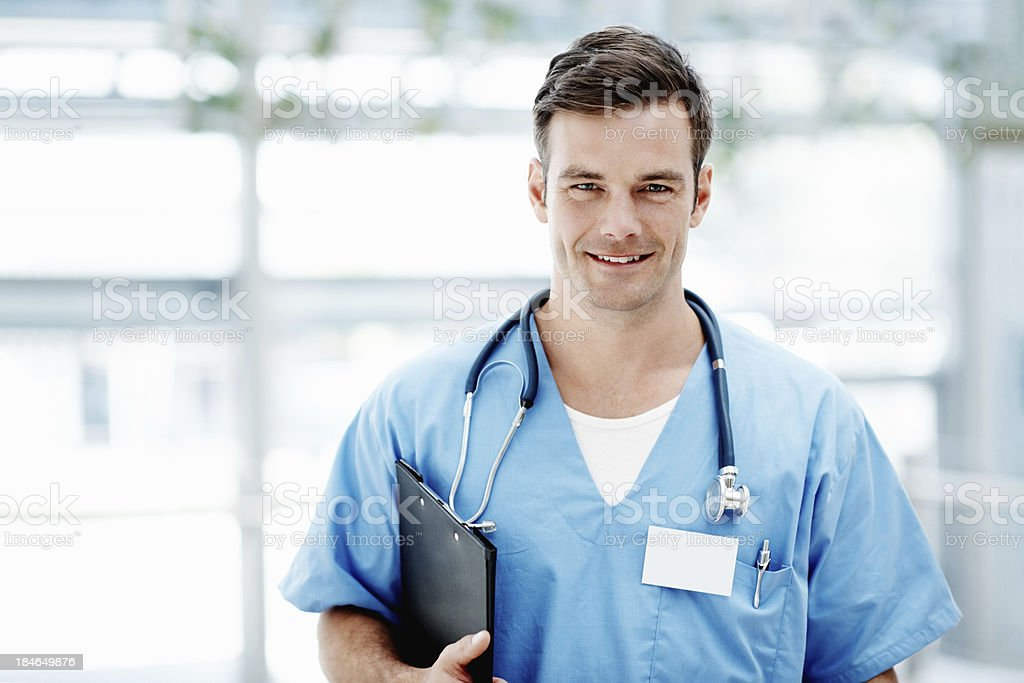 Smart male doctor royalty-free stock photo