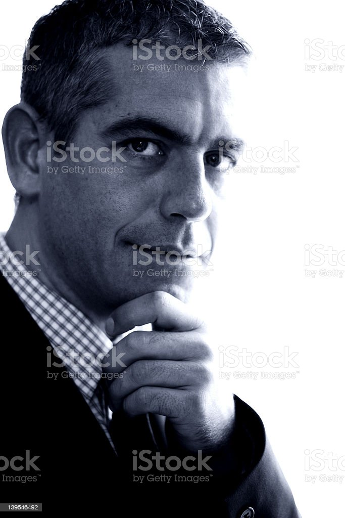 Smart Man royalty-free stock photo