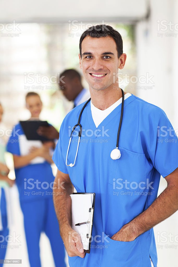 smart medical doctor portrait royalty-free stock photo