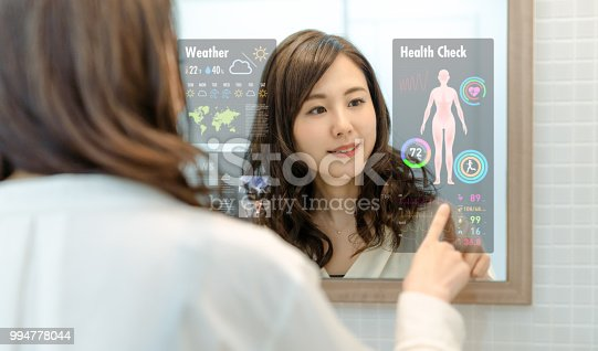 istock Smart mirror concept. 994778044