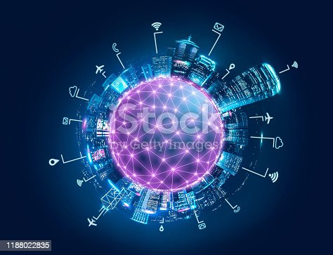 656082444 istock photo Smart Network and Connection city of Hong Kong 1188022835