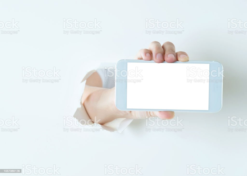 Smart phone break out of cardboard.