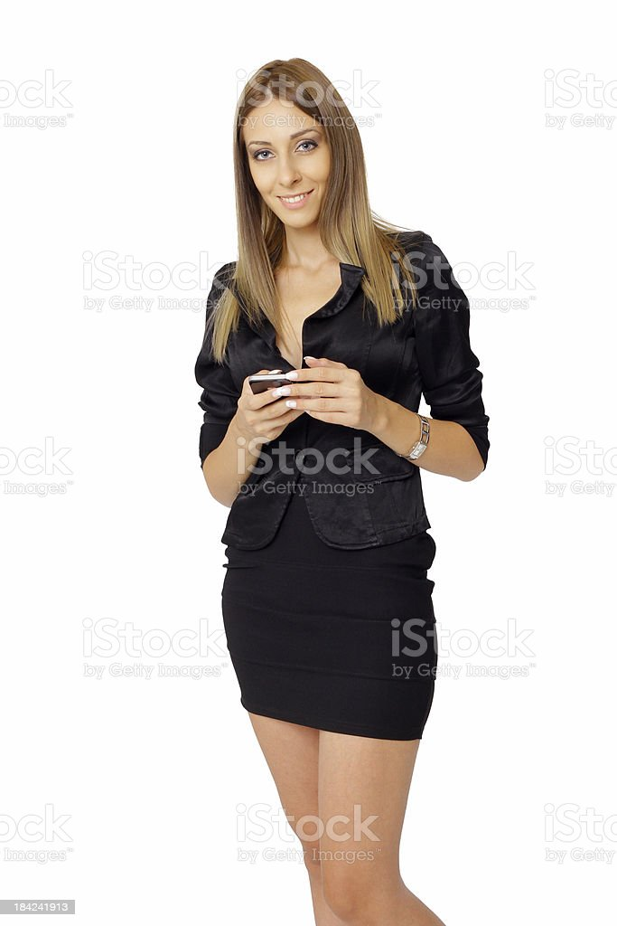 Smart phone communication - Stock Image royalty-free stock photo
